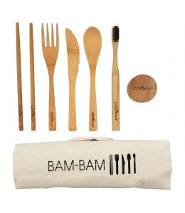 POSATE IN SET BAMBOO
