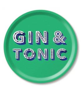 VASSOIO TONDO GIN & TONIC