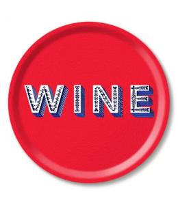 VASSOIO TONDO WINE