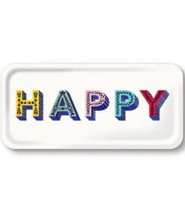 VASSOIO 32X15 CM HAPPY