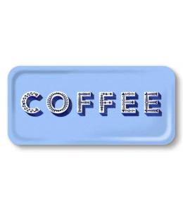 VASSOIO 32X15 CM COFFEE