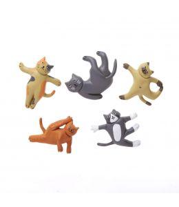CAT YOGA MAGNETS
