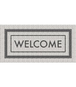 TAPPETO MOSAICO 50X100 WELCOME